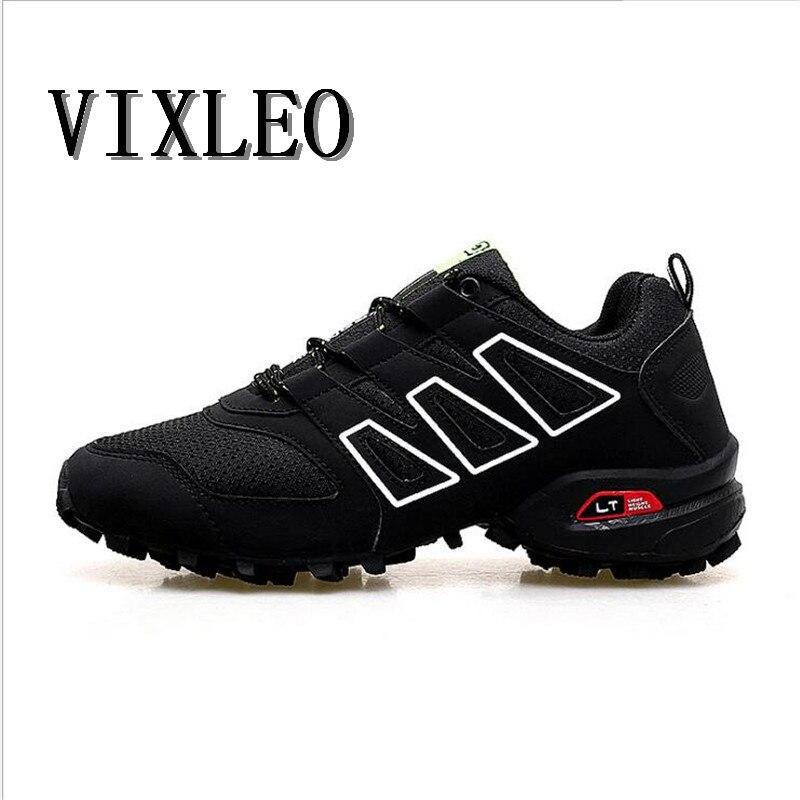0a551dc84 VIXLEO nuevos zapatos para correr para hombres Trail Shoes deporte hombres  zapatillas Jogging zapatos tenis velocidad 3 Cross calzado atlético talla  39 46 ...