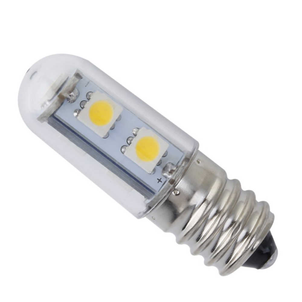 1PCS 1W E14 LED Lamp SMD 5050 220V Corn Bulb 7LEDs No Flicker Chandelier Candle LED Light For Home Decoration Ampoule