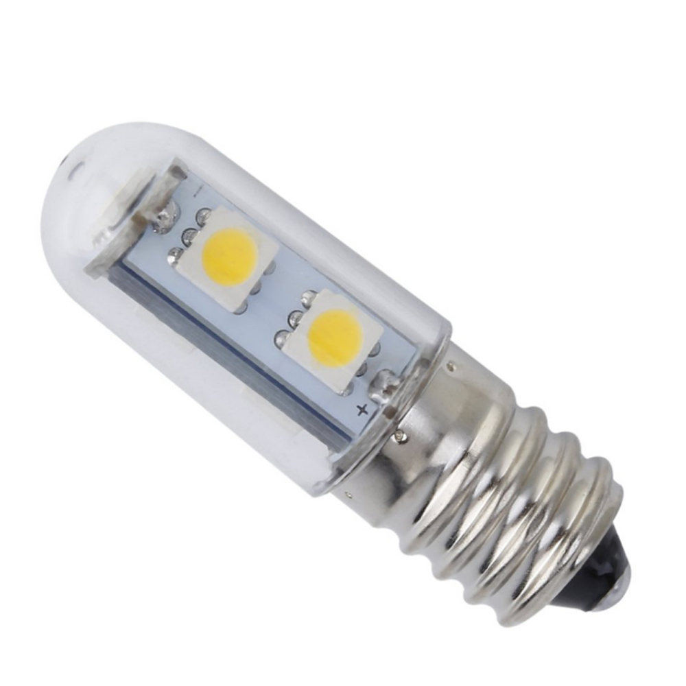 1PCS <font><b>1W</b></font> E14 LED Lamp SMD <font><b>5050</b></font> 220V Corn Bulb 7LEDs No Flicker Chandelier Candle LED Light For Home Decoration Ampoule image
