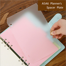 Diario page planner pages concise binder separator filler inner holes pp