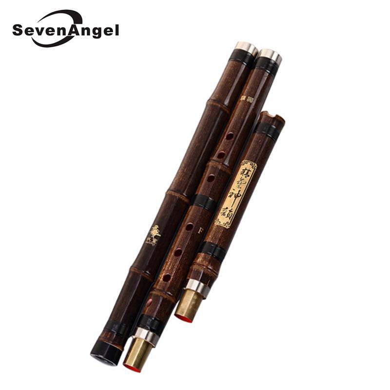 Chinese XIAO Natural vertical Bamboo Flute Xiao Musical Instrument F/G Key Clarinet Professional binodal single plug flauta