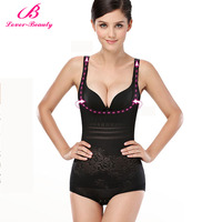 Lover Beauty Seamless Body Shaper Open Bust Shapewear Firm Control Bodysuit For Women Tummy Control Underbust