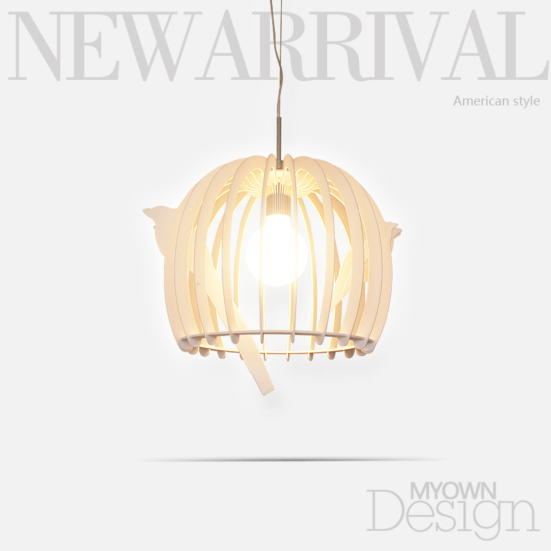Modern minimalist cage restaurant chandelier living room lights bedroom lamp chandelier lighting цена и фото