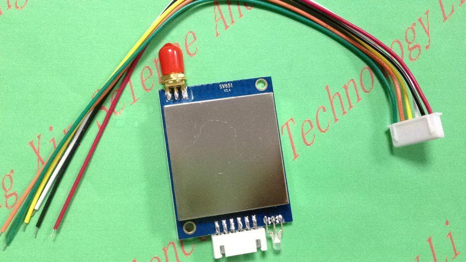 Модуль трансивера Si4432 SV651- 3km 1000 мВт 433/470/868 МГц TTL/RS232/RS485 с защитой от помех, бесплатная доставка