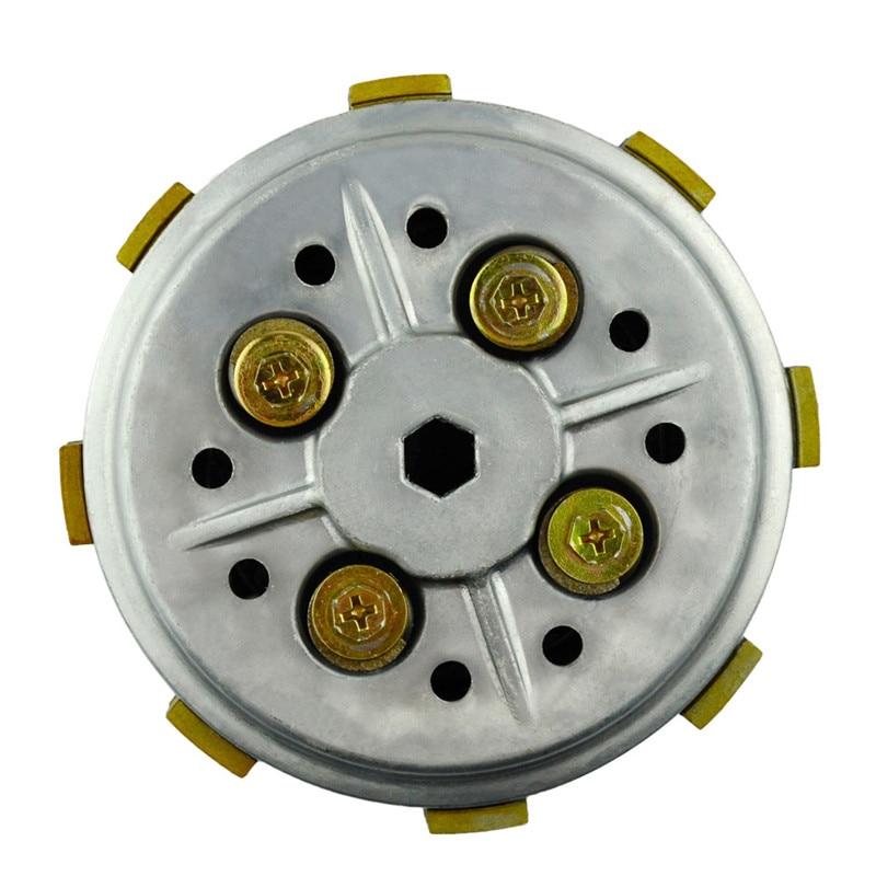 NEUF YAMAHA YBR 125 clutch plaques friction Plain Plaque en Acier Set Kit