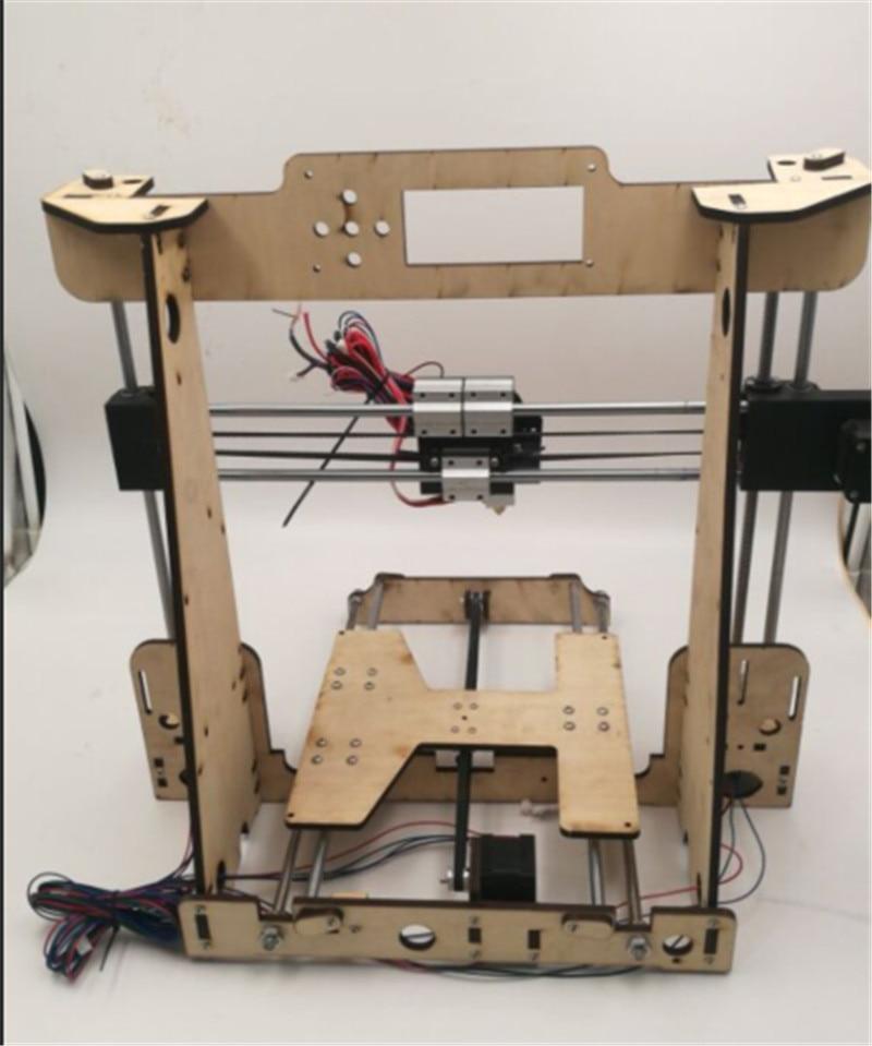 Funssor 1 set Reprap i3 Anet A8/Hesine M505/Tronxy 3D Imprimante clone Cadre mécanique kit 6mm NEMA17 moteur - 2