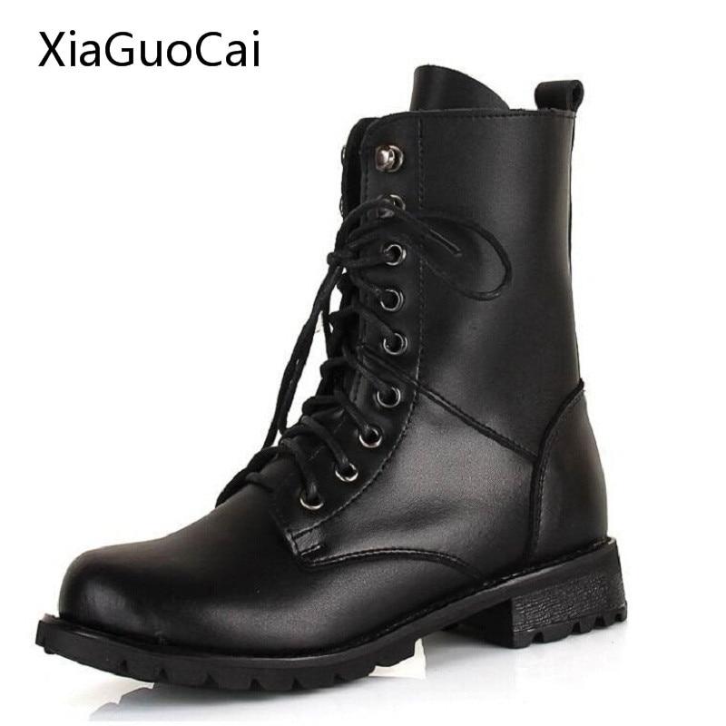 Popular Black Combat Boots Women Fashion-Buy Cheap Black Combat ...