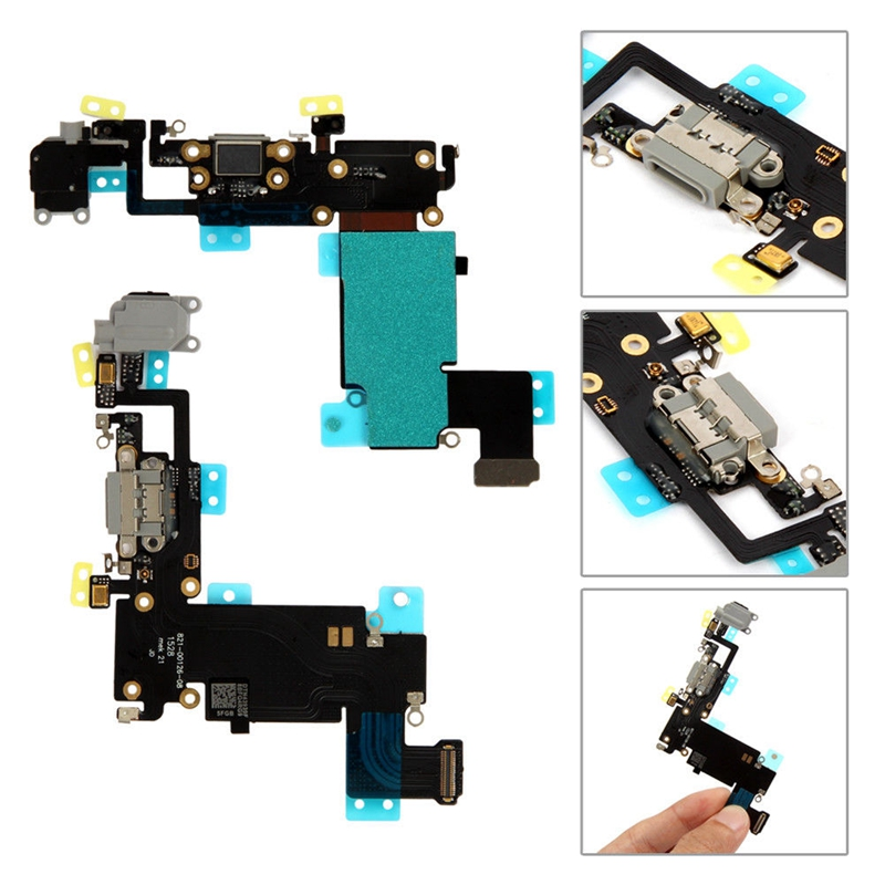 Charger Charging Port Dock USB Connector Flex Cable For IPhone 6 6S Plus 4.7