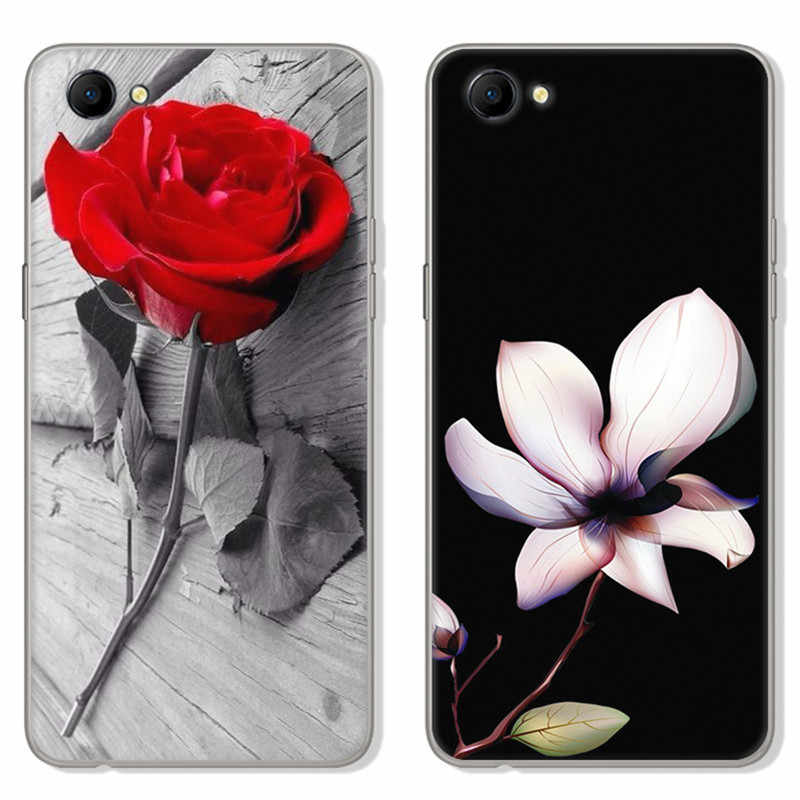 For coque Oppo A3 Case Silicone Cute cat Fish dog rose Clear Phone Cases  For Oppo A3 Cover TPU Soft Flowers For Fundas Oppo A 3