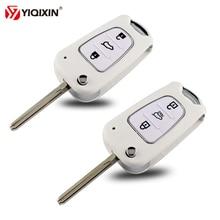 YIQIXIN 3 Buttons Flip Folding Remote Auto Car Key Shell For Kia Rio 3 Picanto Sportage K2 K3 K5 For Hyundai IX35 I30 Key Shell