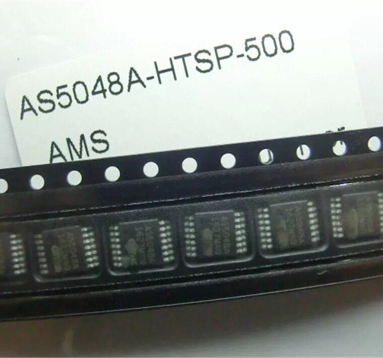 2pcs~10pcs/lot   New Original  AS5048A-HTSP  AS5048A  TSSOP-14  Chips And Magnets