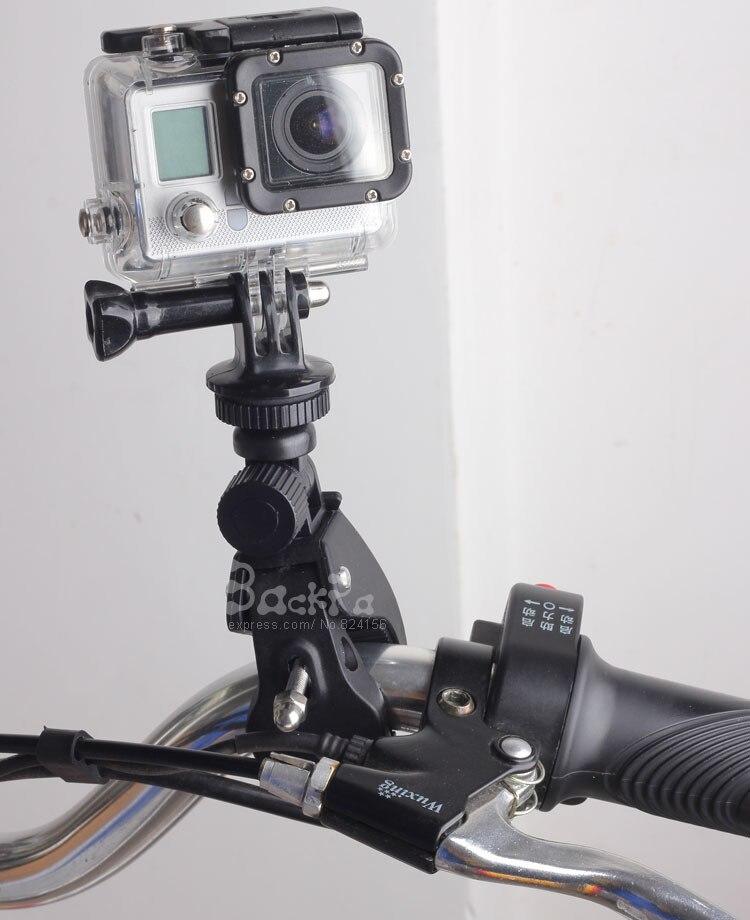 Велосипедный Спорт велосипед мотоцикл Руль управления для мотоциклов бар Поддержка Крепление подходит для SJ4000 SJ5000 SJ6000 для GoPro Hero 4 Hero 3 Интим...