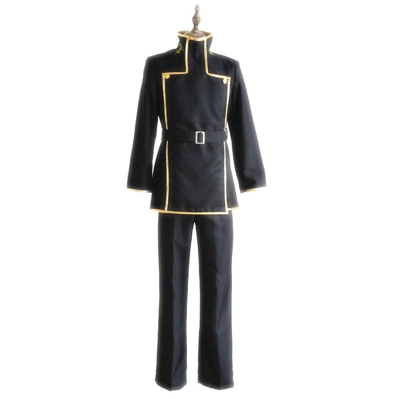 Brdwn Code Geass Lelouch of the Rebellion episodes Lelouch vi Britannia Cosplay Costume school uniforms suit