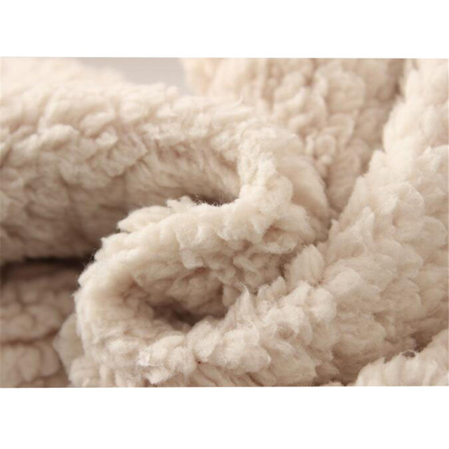 Autumn Winter Women Long Trousers Warm Thick Velvet Harem Pants Female Elastic Waist Sweatpants Fleece Cotton Casual Pant AB658 5