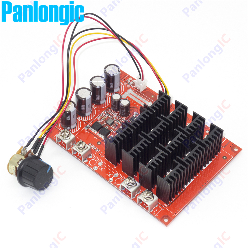 100PCS 10-50V 60A DC Motor Speed Control PWM HHO RC Controller 12V 24V 48V 3000W MAX High Quality DHL EMS Fedex Free Shipping 20a universal dc10 60v pwm hho rc motor speed regulator controller switch l057 new hot