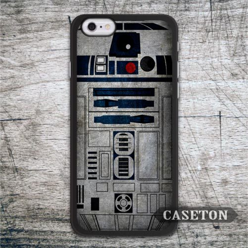 Star Wars R2D2 Case For iPhone 7 6 6s Plus 5 5s SE 5c 4 4s and For iPod 5 Vintage Retro Ultra Protective Cover