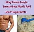 Whey Protein Powder WPC80 Fitness Nutrition Supplements Increase Body Muscle Weight Food