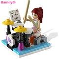 [Bainily 1005A] original montaje bloques de construcción 85 unids Compatible con legoe amigos para la muchacha regalo casa ciudad de ladrillos
