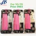 10 Шт. качество Полный полный Корпус Для iphone 5 5g 5S назад Металлический Корпус Ближний Рамка Крышка Батарейного Отсека Дверь в сборе с частями
