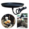 Car Interior Drink Stand Mount Convenient Car Mount Holder for Food & Beverage Stand Tray Clip Table