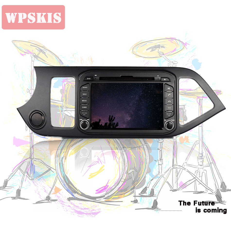 Android 9 0 4G for KIA PICANTO MORNING 2011 2016 2din car dvd gps navigation bluetooth