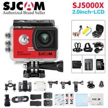 Action Camera SJCAM SJ5000X Elite WiFi Remote Control Ultra HD 4K 24fps 2K30fps Gyro Helmet action Cam go waterproof pro Sport c