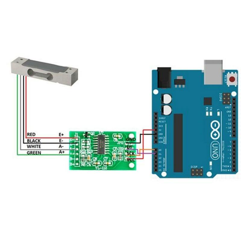Stromsensor ACS712 20A Modul zB fr