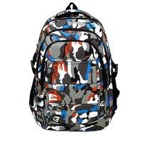 Boys Girls Men Nylon School Bags Shoulder Bookbags School Satchel Travel Backpack For Children Sac A