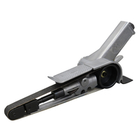 Air Belt Sander Polishing Air Angle Grinding Drawing Machine Aluminum Abrasive Tools with 2pcs Sanding Belts Pneumatic Tool Sets