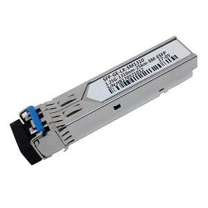 Image 3 - 10pcs/lot For Huawei SFP GE LX SM1310 SFP Fiber Optical Module Singlemode 1000Base LX 1.25G 1310nm 25km SM ESFP LC Connector DDM