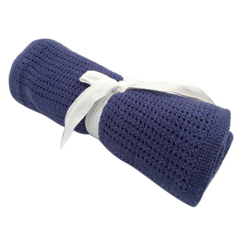 ᗗ100 cm x 80 cm bebé caliente Mantas algodón crochet prop cuna ...