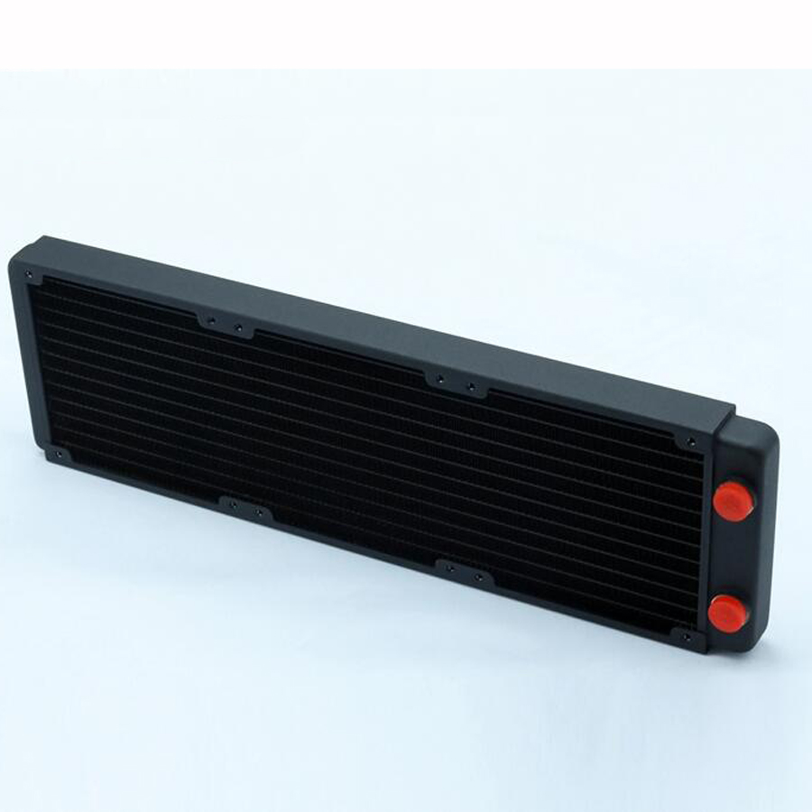 Купить с кэшбэком 120 240 360 480 water-cooled copper radiator exhaust heat exchanger cool water cooling high quality