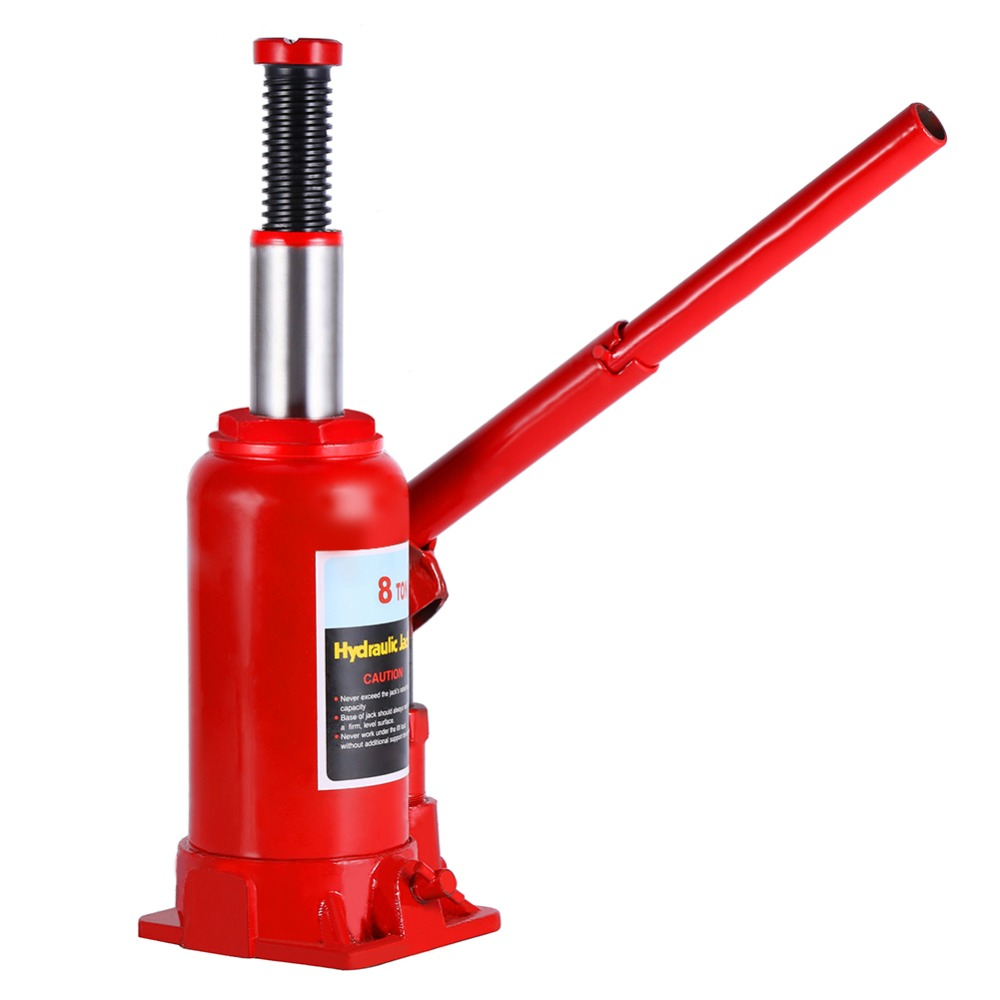 8 Ton Portable Hydraulic Bottle Lifting Jack Automotive ...