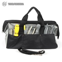 1Piece 14 16 18 Tool Bag 900D Waterproof Oxford Cloth Shoulder Bag For Electrician Tool Kits