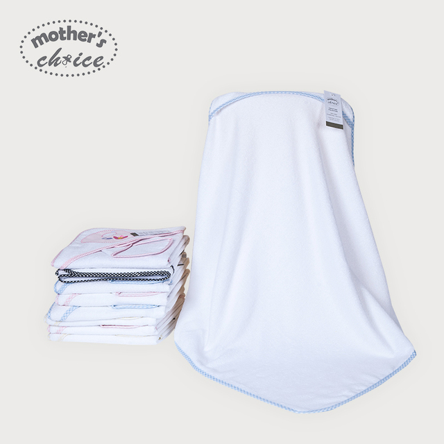 Elección madres 100% algodón bebé recién nacido con capucha bath towel 15 patrones de selección