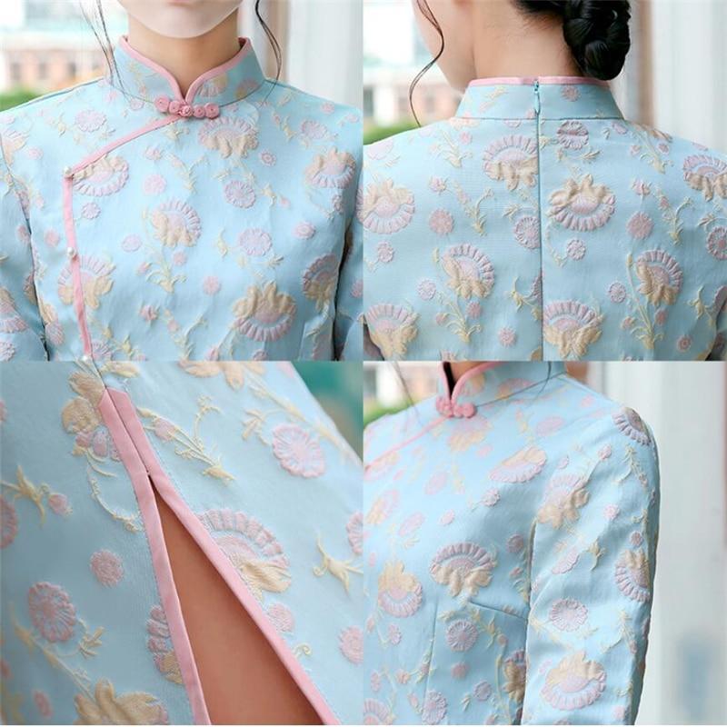 Nouveau Qualité Avec 1 Haute 2 Filles 2019 Vêtements Dames De Mignon Lapin D'hiver Cheveux Robe Chinois Collier Modifié Femmes Stand dHwxwn6U