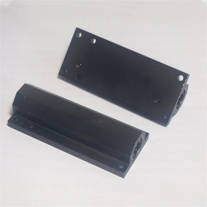 2 pcs*Lulzbot TAZ 3D printer upgrade metal aluminum alloy Z axis double bearing holder kit lu10uu baring