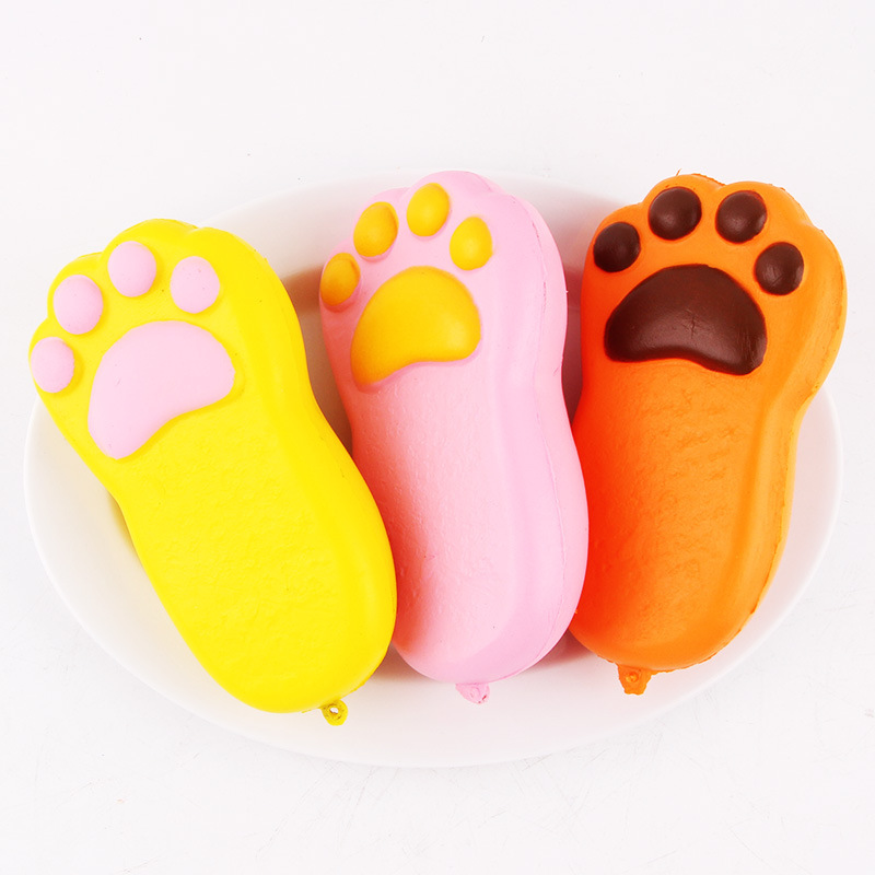 Squishy Bear Paw Jumbo 135cm Slow Rising With Packaging Collection
