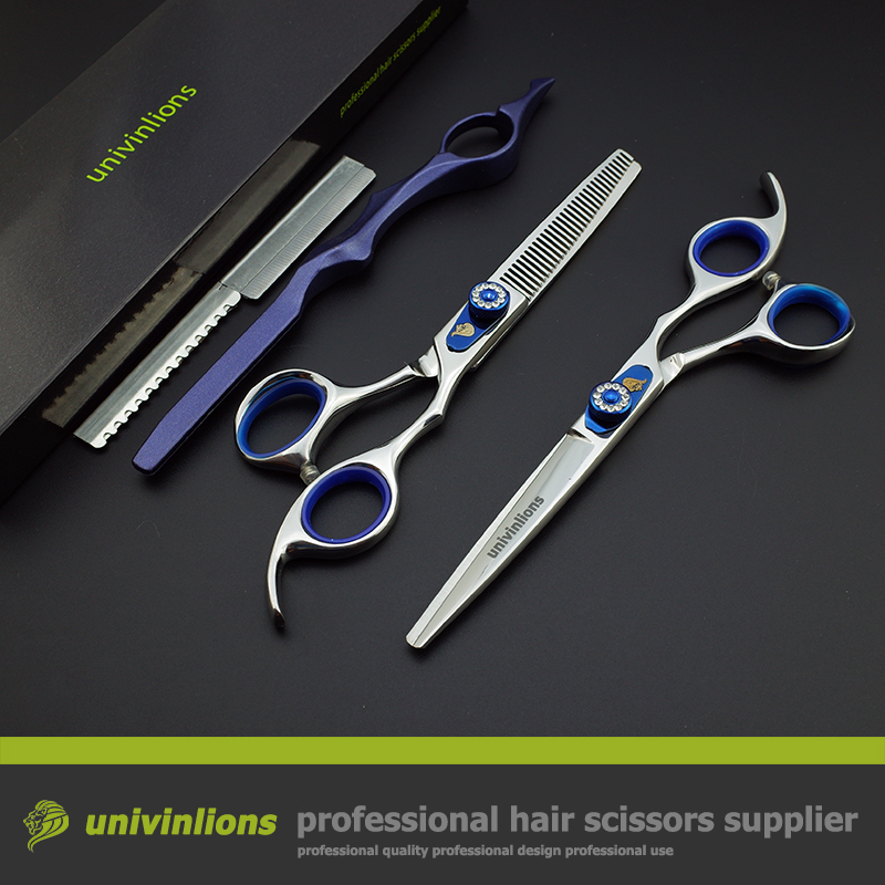 6 Quot Blue Jewel Hairdressing Clippers Professional Hair