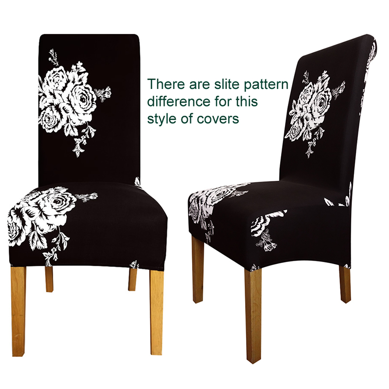 Large Size Long Back Chair Cover King High Back Spandex Fabric Chair Covers  Resterant Hotel Party Banquet Chair Slipcovers In Chair Cover From Home U0026  Garden ...