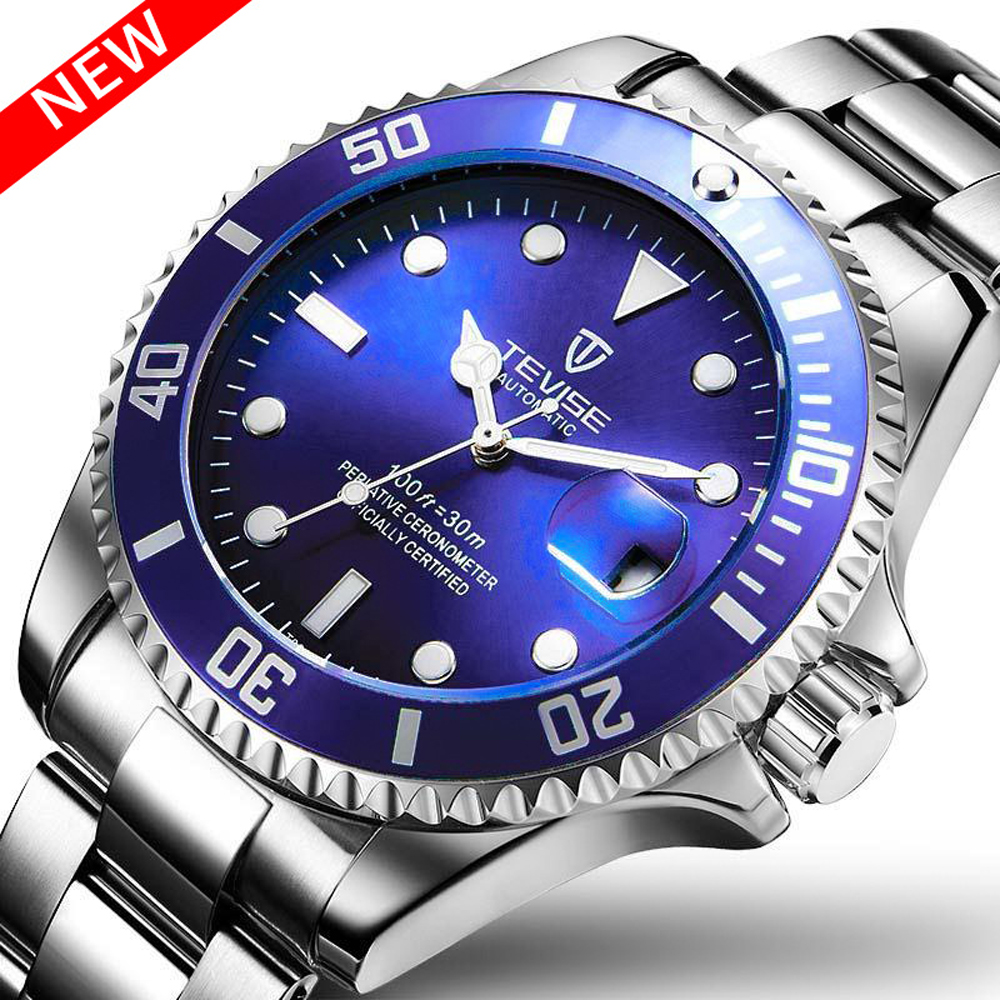 5e4c4c6e2e8 Detail Feedback Questions about Top Luxury TEVISE Relogio Automatico  Masculino Men Mechanical Watches Fashion Waterproof Business Submariner  watch Male ...