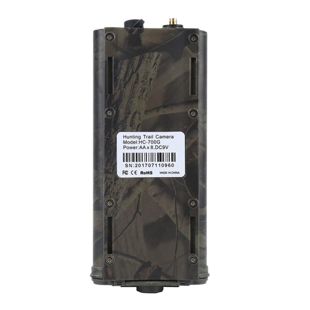 Caméra de chasse HC700G photopièges 3G HD16MP caméra de sentier PRS MMS SMTP SMS 1080 P imageur thermique Vision nocturne 940nms caméra de chasse - 5