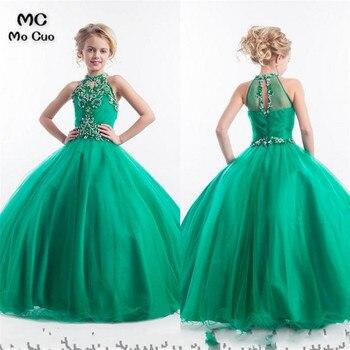 kids prom dresses 2018 Ball Baby dresses for girls first communion dresses for girls Beading flower girl dresses for weddings