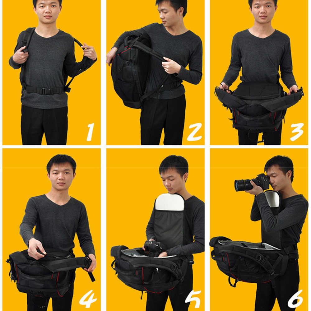 CADeN التصوير حقيبة mochila fotografia DSLR كاميرا حقائب كتف حقيبة الظهر المحمول لكانون نيكون السفر للصدمات عدسة حالات