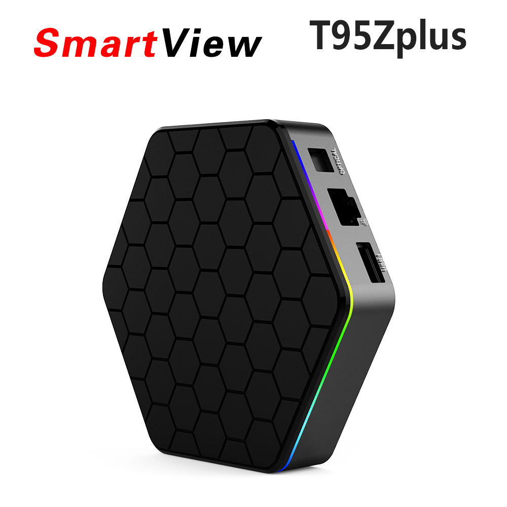 10 pz T95Z Plus 2 GB 16 GB 3 GB 32 GB Amlogic S912 Octa Core Android 7.1 OS TV BOX 2.4G/5 GHz Dual WiFi BT4.0 Completamente Carico 4 K H.265