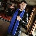 Новая зимняя дикий утолщение мужской хлопчатобумажный шарф Прилива теплый цвет пара шарф 7 Цвет