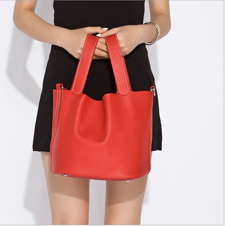 Genuine Leather Handbag Bag Real Leather women tote s Bag Women's Bags Cow Leather handbags