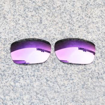 E O S spolaryzowane wzmocnione wymienne soczewki do okularów Oakley TwoFace-fioletowe fioletowe lustro spolaryzowane tanie i dobre opinie Eye Opening Stuff Poliwęglan Okulary akcesoria Fit for Oakley TwoFace Frame UV400 One size inches As your choice Reduces glare and impact resistant