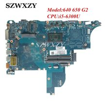 840717-001 For HP Probook 640 650 G2 Laptop Mothebroard CIRCUS-6050A2723701-MB-A02 with SR2F0 i5-6300U Processor(China)