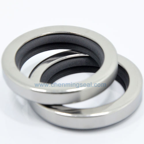 Seals Enthusiastic 45*62*10 Mm Counterclockwise Dual Lip Ptfe Oil Seals With Ss304 Housing For Compressors/pumps/mixers/blowers